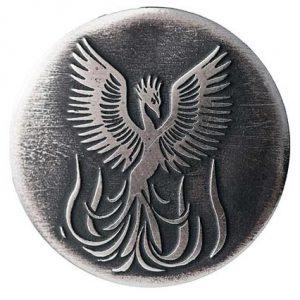 Symbol of phoenix to represent the rebirth in rebranding