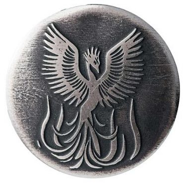 Symbol of phoenix to represent the rebirth in rebranding