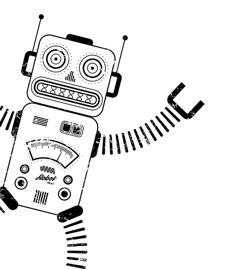 Joint Media Marketing robot waving hello