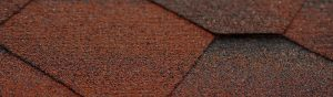 Red roof shingles for roofing contractor marketing case study